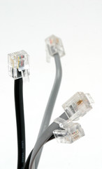bundle of dsl cables