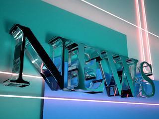 news 3d logo