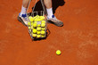 tennis balls basket