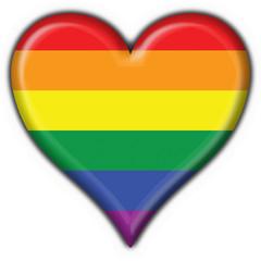 bottone cuore pace - peace button heart flag