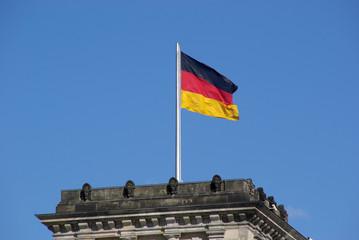 deutschlandfahne - flagge