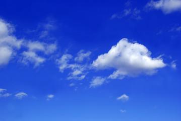 himmel - wolken - himmelblau