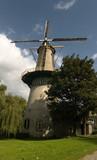 dutch windmill holland poster