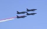 patriot jets, flying right poster