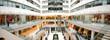 Leinwandbild Motiv shop interior panorama