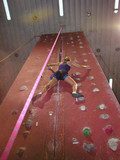 indoor rock climbing