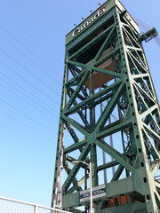 lift bridge tower  60891