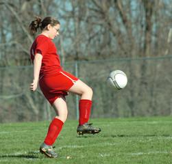 girl on soccer field 5
