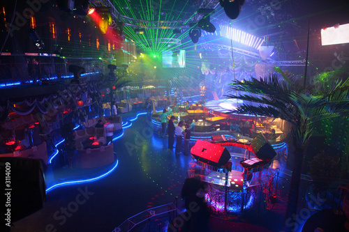 night club interior - 3114009
