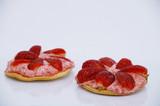tartellettes aux mousses de fraises poster