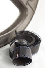 bobine et pellicule 35mm