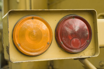 Two Lights on tractor
