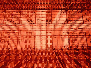 red 3d matrix