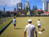 barefoot bowls poster