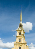 peter and paul fortress, the symbol of saint petersburg, russia poster