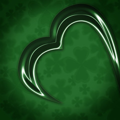 abstract shamrock