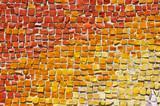 mosaic tiles gradient poster