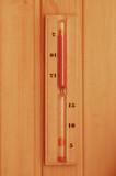 hourglass in sauna poster