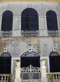 imposing facade poster