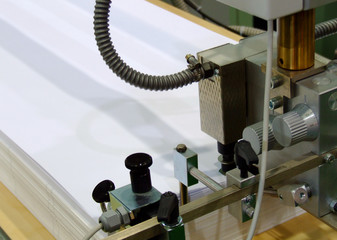 druckmaschine papieraufnahme 1