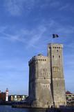 tour de fortifications du port de la rochelle poster