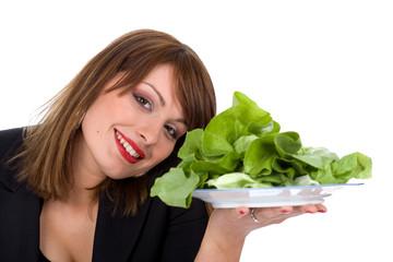 eat fresh salad