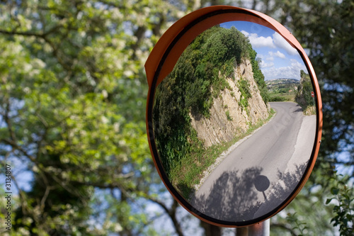 defensive driving mirror