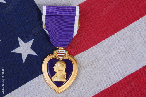 american purple heart medal
