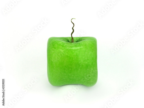 apple - a square.