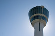 Air traffic control tower at Munich Airport