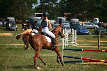 compétition jumping