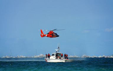 coast guard rescue operation