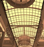 shopping mall ceiling poster