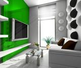modern office in verde poster