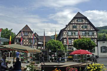 wochenmarkt in oberkirch