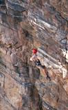 sport lead climbing poster