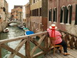 gondolier on the chair