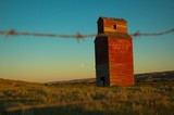 abandoned grain elevator poster
