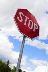 traffic sign stop