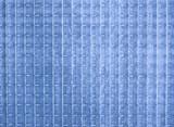 blue opaque glass texture poster