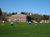 high school soccer game poster