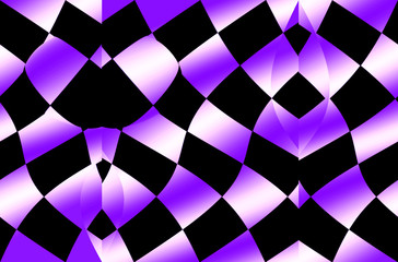 op art purple