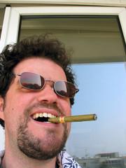 canaille au cigare