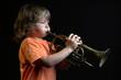 trompette d'enfant