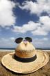 sombrero en la playa