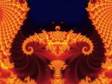 abstrakter fraktal-hintergrund