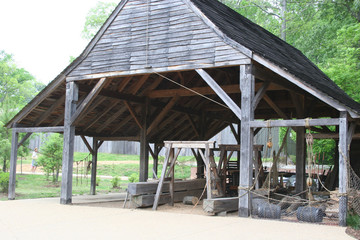 colonial toolshed