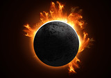 detailed total eclipse