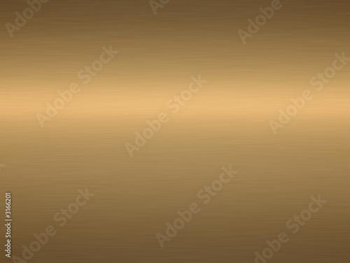 Aluminium Metal brushed bronze