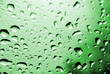 crystal waterdrops /green color/